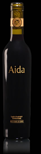 aida estate 2008 late harvest zinfandel